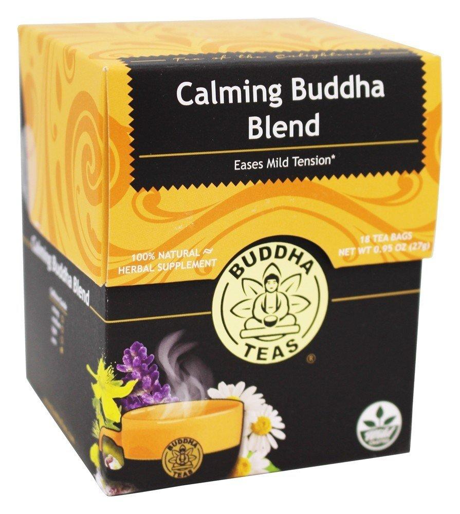 Calm Buddha Blend Caffeine, Kosher, GMO-free, and Gluten-free Tea