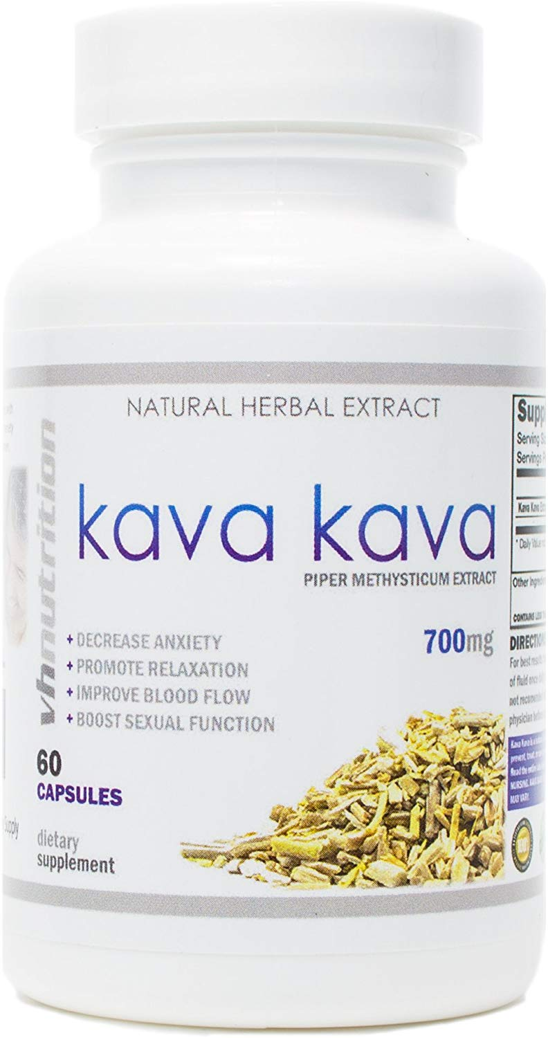 Kava Kava Stress Relief and Anxiety Supplement