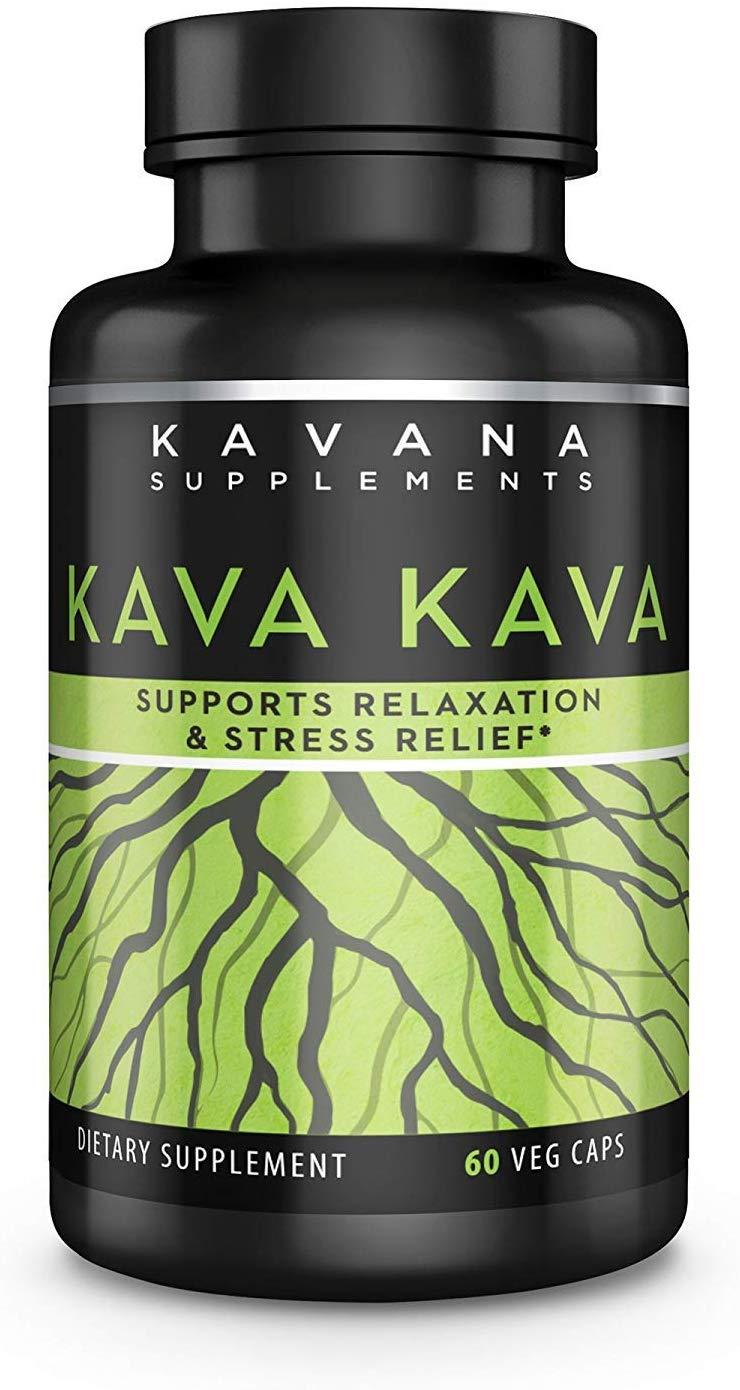 Kavana Supplements Kava Kava Root Extract Dietary Supplement