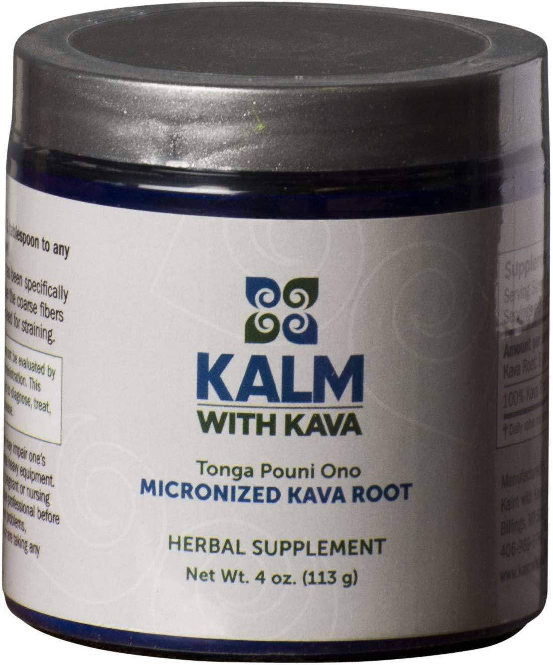 Micronized Instant Kava Powder - Tongan Pouni Ono (4 oz)