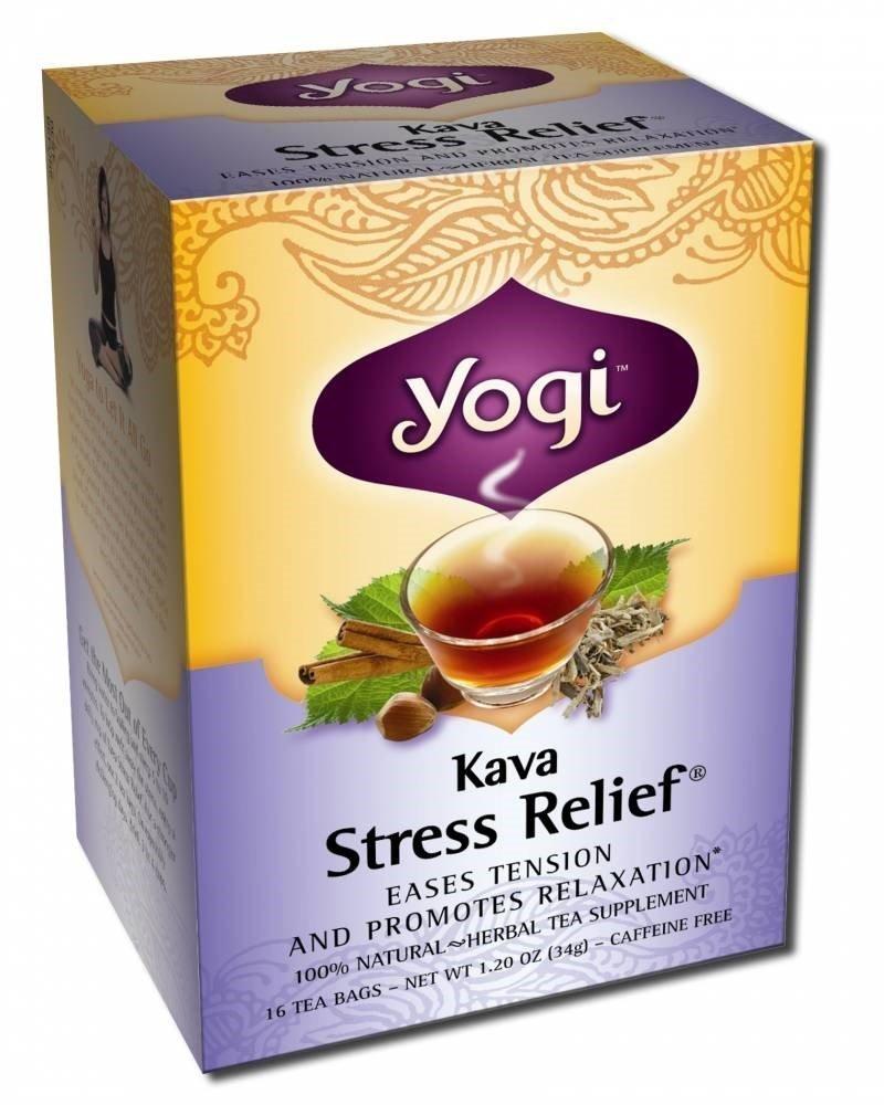 Yogi Kava Stress Relief Tea 3 x 16 Bag
